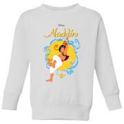 Disney Aladdin Rope Swing Kids Sweatshirt   White   7 8 Years   White