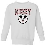 Disney Mickey New York Kids' Sweatshirt - White