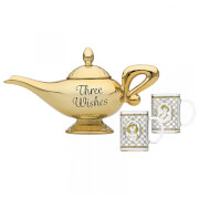 Disney Aladdin Lamp Tea Pot and Glasses Set