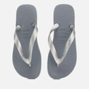 Havaianas Women's Top Tiras Flip Flops - Steel Grey
