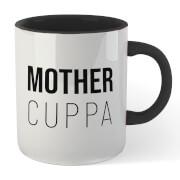 Mother Cuppa Mug White Black