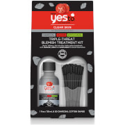 Купить Yes to Tomatoes Detoxifying Charcoal Maximum Strength Blemish Kit