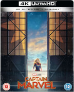 Captain Marvel 4K (avec Blu-ray 2D) - Steelbook Exclusif Limité (Édition UK)
