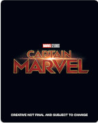 Captain Marvel 4K Ultra HD (Incl. Blu-ray) - Zavvi UK Exclusive Limited Edition Steelbook