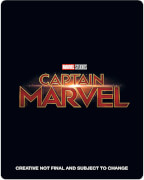 Captain Marvel 3D (Incl. Blu-ray) - Zavvi UK Exclusive Limited Edition Steelbook