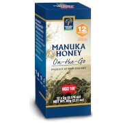 MGO 100+ Pure Manuka Honey - Snap Pack - 5g - Pack of 12