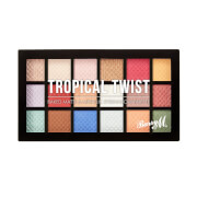 Barry M Cosmetics Baked Eyeshadow Palette Tropical Twist