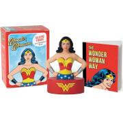 Minikit figura y libro Wonder Woman