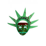 Trick Or Treat Purge: Election Year Lady Liberty Light-Up Mask