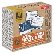 Image of Rubik Lateral Thinking Puzzle A Day Desk Block