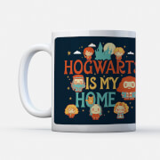 Harry Potter Hogwarts Is My Home Mug
