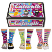 United Oddsocks Women's Catwalk Socks Gift Set (UK 4-8)