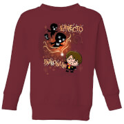 Harry Potter Kids Expecto Patronum Kids' Sweatshirt - Burgundy