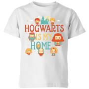 Harry Potter Kids Hogwarts Is My Home Kids' T-Shirt - White