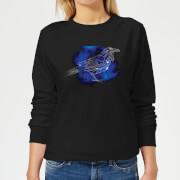 Harry potter ravenclaw geometric womens sweatshirt black xs noir