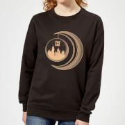 Harry Potter Globe Moon Women's Sweatshirt - Black