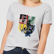Harry Potter Varsity House Logo Women's T-Shirt - Grey