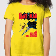 Batman Batman Issue Number One Women's T-Shirt - Yellow