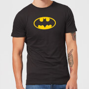 Justice League Batman Logo Men's T-Shirt - Black