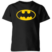 Justice League Batman Logo Kids' T-Shirt - Black