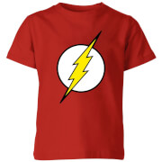 Justice League Flash Logo Kids' T-Shirt - Red