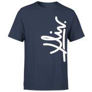 How Ridiculous XLIV Script Vertical Men's T-Shirt - Navy