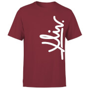 How Ridiculous XLIV Script Vertical Men's T-Shirt - Burgundy
