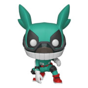 Figurine Pop! Deku Avec Casque - My Hero Academia
