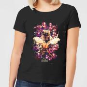 Avengers Endgame Splatter Women's T-Shirt - Black