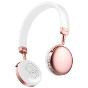 AV: Link Metallic Bluetooth Headphones - Rose Gold