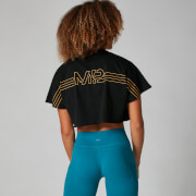 MP Branded Crop Top - Black