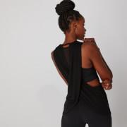 Camiseta de Tirantes Cross Back - Negro