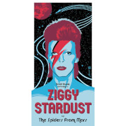 David Bowie - 'Ziggy Startdust' 12 x 24 Inches Limited Edition Screenprint by Brian Miller