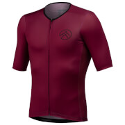 54 Degree Meso Jersey - Twilight Crimson - L - Red