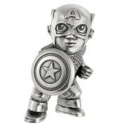 Royal Selangor Marvel Captain America Pewter Miniature Figurine 5cm
