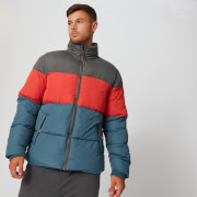 MP Herren Colour Block Puffer Jacke - Diesel
