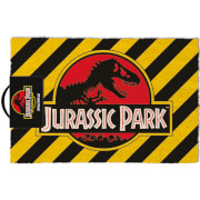 Jurassic Park (Warning) Doormat