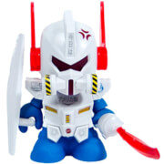 Kidrobot Gundam 3 Inch Mini Figure - White Edition