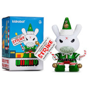 Kidrobot Dunny Grumpy Elf By Kozik - Santa Unfair Elves Of The Pole