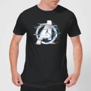 T-shirt Avengers: Endgame Logo Blanc - Homme - Noir
