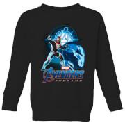 Avengers: Endgame Iron Man Suit Kids' Sweatshirt - Black