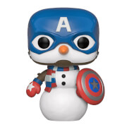 Figurine pop! Captain America - Marvel Noël