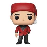 The Office Michael as Santa Bond Pop! Vinyl Figure