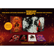 Hellboy 4K Ultra HD (Includes 2D Blu-ray) – Zavvi Exclusive Steelbook