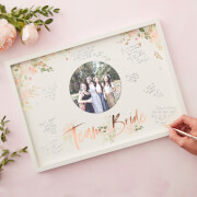 Ginger Ray Team Bride Guest Book Frame