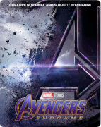 Avengers: Endgame - Steelbook 4K Ultra HD Exclusif Zavvi (Blu-ray 2D inclus)