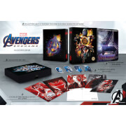 Avengers: Endgame - Steelbook 4K Ultra HD Exclusif Zavvi (Blu-ray 2D inclus) - Édition Collector