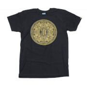 Kidrobot Tristan Eaton Gold Dunny 10th Men's T-Shirt - Black