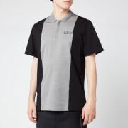 Lanvin Men's Polo Shirt - Grey/Black - XL - Grey/Black