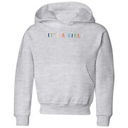 It's A Girl Kids' Hoodie - Grey
